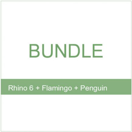 Bundle - Rhino 6 Flamingo Penguin 2