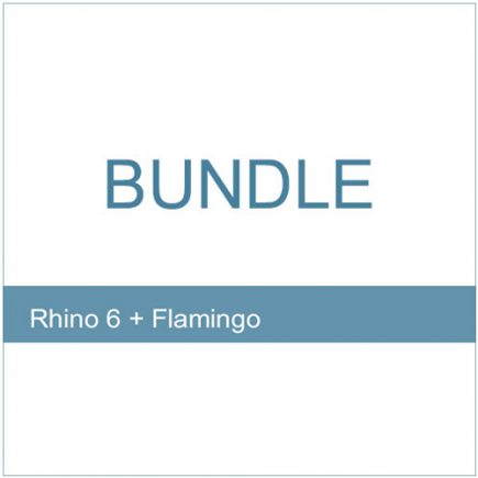Bundle - Rhino 6 Flamingo 2