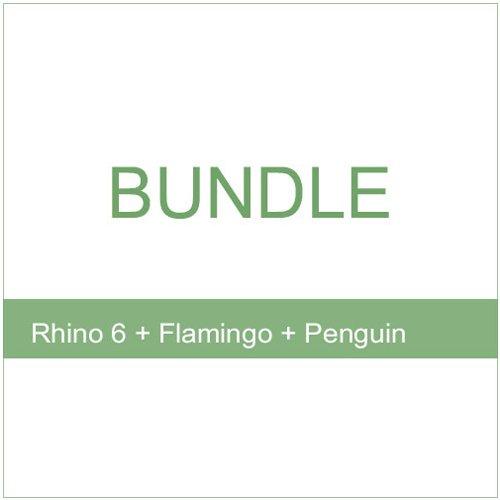 Bundle - Rhino 6 Flamingo Penguin 1
